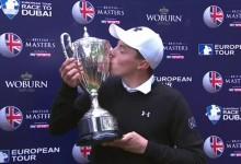 Ha nacido una estrella. El inglés Matt Fiztpatrick se adjudica el British Masters en casa con 21 años