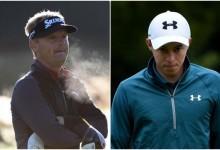 5 españoles superan el corte en el British Masters. Fitzpatrick (21a.) y Kjeldsen (40) lideran en Woburn