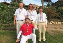 Andrés Pastor (1º) y Thomy Artigas (3º) se suben al podio en el Open de Italia de Pitch & Putt 2015