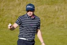El irlandés Paul Dunne firma en St. Andrews un Hoyo en Uno en su sexto hoyo como profesional