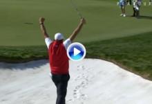 Los mejores golpes del año en el PGA Tour (nº7): Eagle de Mickelson desde 125m. y la arena (VÍDEO)