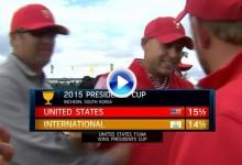 Presidents Cup (Corea): Resumen de los golpes destacados en su cuarta y última jornada (VÍDEO)