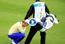 La presión pudo con Sangmoon Bae. El coreano cayó abatido tras fallar el chip en el 18 (VÍDEO)