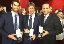 Sergio García recibe la Medalla de Oro al Mérito Deportivo. Cabr.-Bello, Larrazábal y Rahm, Bronce