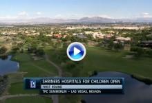 Shriners  Open (Las Vegas): Resumen de los golpes destacados en su primera jornada (VÍDEO)