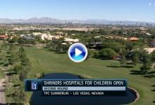Shriners Open (Las Vegas): Resumen de los golpes destacados en su segunda jornada (VÍDEO)