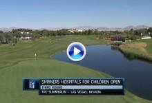 Shriners Open (Las Vegas): Resumen de los golpes destacados en su tercera jornada (VÍDEO)