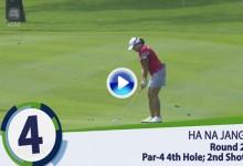 Sime Derby LPGA (Malasia): Resumen de los golpes destacados en su segunda jornada (VÍDEO)