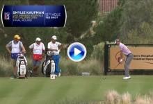 Un tirazo del novato Smylie Kaufman encabeza los mejores tiros de la semana en el PGA Tour (VÍDEO)
