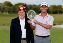 El rookie Smylie Kaufman mete la directa y se adjudica en Las Vegas su primera victoria en el PGA