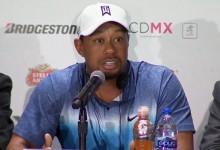 """Tiger podría pasar un año en blanco tras su última operación: """"La rehabilitación es tediosa y larga"""""""