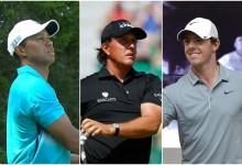 Tiger, Mickelson y McIlroy, en el Top 10 de la lista Forbes como marcas personales más rentables