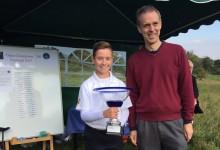 Nuevo triunfo de Thomy Artigas. El joven alicantino se impone en el Open de Inglaterra de Pitch & Putt