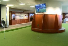 Minneapolis, primer aeropuerto en instalar un gran putting green y simulador de golf (Incluye VÍDEO)