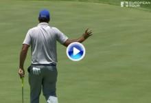 Alfred Dunhill Champ. (Sudáfrica): Resumen de los golpes destacados en su primera jornada (VÍDEO)