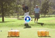 El Beer Golf ya es tendencia entre las celebridades. El actor Brian Baumgartner da fe de ello (VÍDEO)