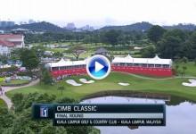 CIMB Classic (Malasia): Resumen de los golpes destacados en su cuarta y última jornada (VÍDEO)