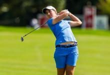 Carlota Ciganda peleará por su primer título en el Tour LPGA. Es tercera en el Lorena Ochoa Invitat.