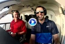 Schwartzel surcó los cielos de Dubái antes de ganar el Alfred Dunhill Champ. en Sudáfrica (VÍDEO)