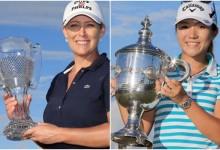 Cristie Kerr se adjudica la gran Final LPGA y Lydia Ko se impone a Park como nº1 y jugadora del año