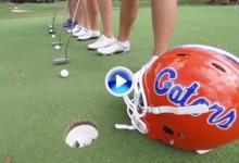 El equipo de los Gators de Florida se preparó para Halloween con estos originales Trick Shots (VÍDEO)