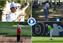 Estos son los cinco mejores golpes del mes de noviembre en el European Tour (VÍDEO)