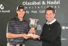 Rafa Nadal se impone a José María Olazábal en la tercera edición del Olazábal&Nadal Invitational