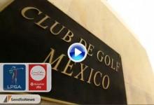 Lorena Ochoa Invit. (Méjico): Resumen de los golpes destacados en su primera jornada (VÍDEO)