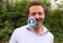 Pablo Martín: «Espero jugar igual de bien el fin de semana pero sin perder golpes tontos» (VÍDEO)