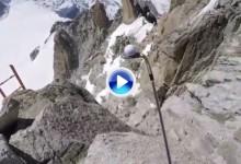 No todos los Trick Shots salen bien. Bechu perdió su wedge en el Mont-Blanc con su intento (VÍDEO)