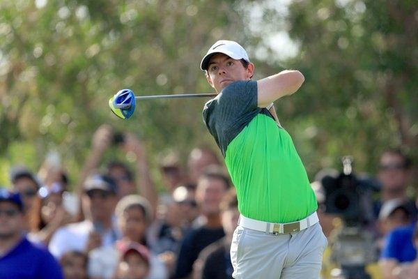 Rory McIlroy en el DP World Tour Championship. Foto: @EuropeanTour