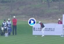 Sergio García es el golfista del día. Lidera en Shanghai gracias a golpes como estos (VÍDEO)