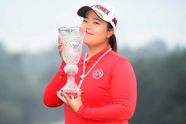 Sun-Ju Ahn campeona en el TOTO Japan Classic. Foto: @LPGA