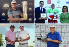 Donaldson, Monty, Dufner & Snedeker y Feng, últimos campeones de este 2015