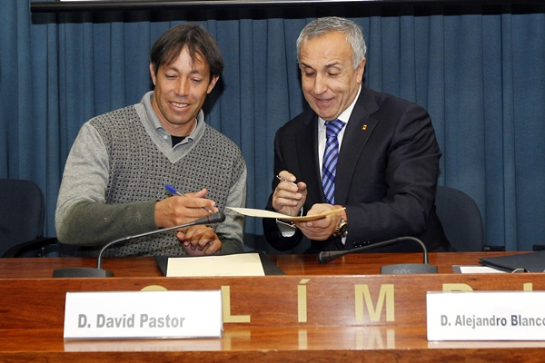David Pastor y Alejandro Blanco