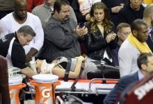 LeBron James deja KO a la mujer del golfista Jason Day, fue trasladada al hospital tras el fuerte golpe
