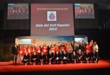 Nos vemos en los Juegos Olímpicos de Río, referencia de la exitosa Gala del Golf Español 2015
