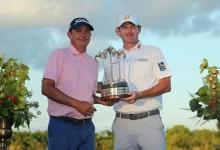 La pareja Dufner/Snedeker se adjudica el Franklin Templeton Shootout, último evento PGA Tour 2015