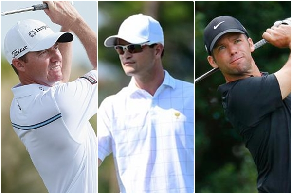 Jimmy Walker. Zach Johnson y Paul Casey