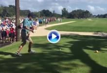 Jordan Spieth deleitó al público con un gran Happy Gilmore durante un Pro-Am en Florida (VÍDEO)