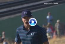 Los mejores golpes del año en el PGA Tour (nº4): Con este putt conquistó Spieth el US Open (VÍDEO)