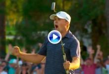 Los mejores golpes del año en el PGA Tour (nº6): Triunfo de Spieth gracias a este putt de 9m. (VÍDEO)