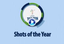 ¡Estas chicas son un fenómeno! Estos fueron los 10 mejores golpes del año en el Circuito LPGA (VÍDEO)