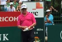 Jiménez, en el Top 10 del exclusivo Nedbank Golf Challenge. Stenson y Jaco Van Zyl, primeros líderes