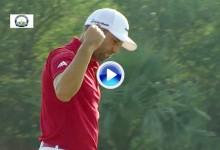Thailand Golf Champ (1ªJ): García vuelve a sacar el puño (VÍDEO Resumen Golpes Destacados)
