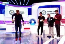 El futbolista Aaron Ramsey superó ante las cámaras un récord mundial relacionado con el golf (VÍDEO)