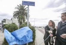 Seve Ballesteros ya tiene una calle con su nombre en Santander con vistas a Pedreña, su ciudad natal