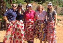 4 jugadoras del LPGA contribuyeron en Zambia a la expansión del proyecto Golf Fore Africa