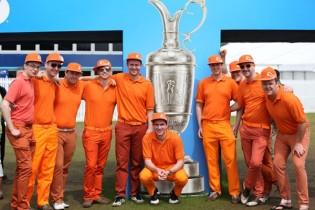 Los naranjitos de Rickie Fowler. Sus seguidores inundan los campos de golf (GALERÍA de FOTOS)