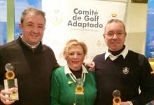 4ª cita de Golf Adaptado de la FGM: José Martínez, Luis Bagaza y Nieves Ramírez, triunfan en El Olivar